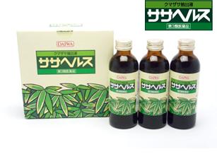 芳さん超お薦め・・・クマ笹の自然薬「ササヘルス」第3類医薬品